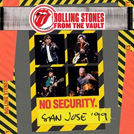 """Rolling Stones """" From the vault: No security-San jose '99 """""""