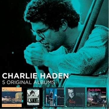 """Charlie Haden """" 5 original albums """""""