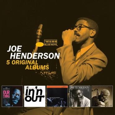 """Joe Henderson """" 5 original albums """""""