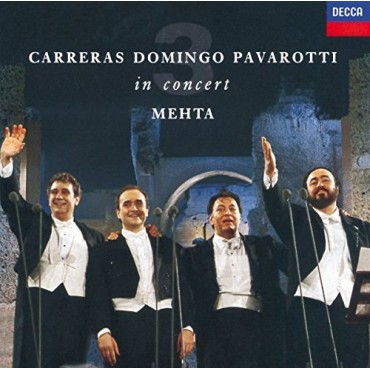 "The Three Tenors "" In concert-Rome 1990 """