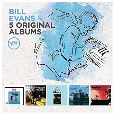 "Bill Evans "" 5 original albums """