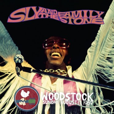 """Sly and the family stone """" Woodstock sunday august 17, 1969 """""""