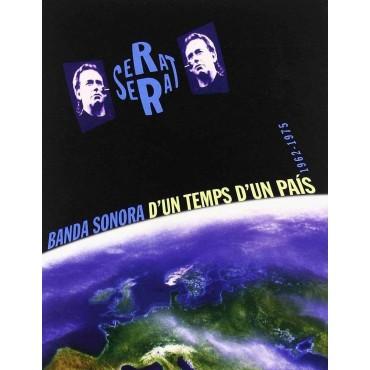 """Joan Manuel Serrat """" Banda sonora d'un temps d'un país 1962-1975 """""""