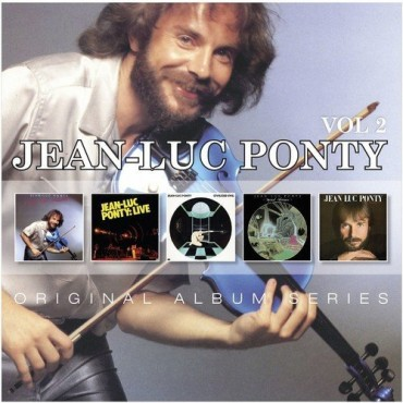 "Jean-Luc Ponty "" Original album series vol.2 """