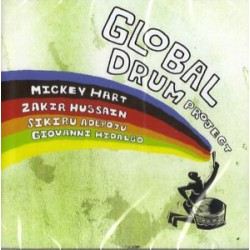 "Mickey Hart & Zakir Hussain "" Global drum project """
