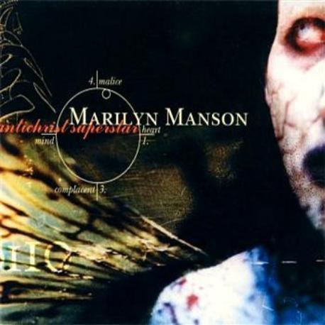 """Marilyn Manson """" Antichrist superstar """""""