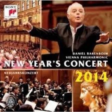"""Daniel Barenboim """" Concierto año nuevo 2014 """""""