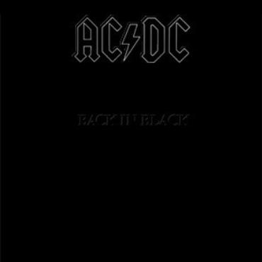 "ACDC "" Back in black """