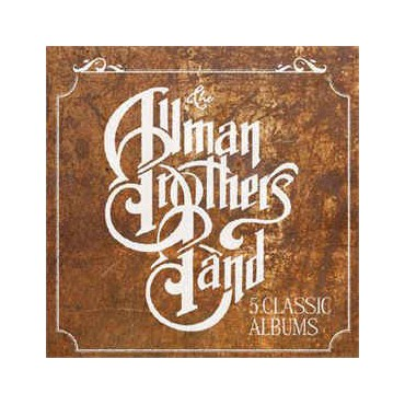 """Allman Brothers Band """" 5 classic albums """""""