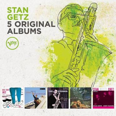 """Stan Getz """" 5 original albums """""""