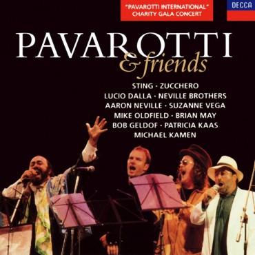 """Luciano Pavarotti """" Pavarotti & Friends """""""
