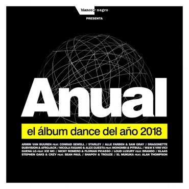 """Anual """" El álbum dance del año 2018 """" V/A"""
