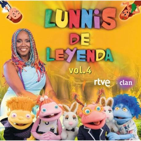 "Lunnis "" Lunnis de leyenda vol.4 """