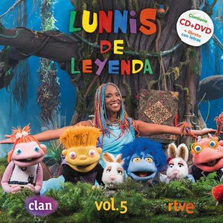 "Lunnis "" Lunnis de leyenda vol.5 """