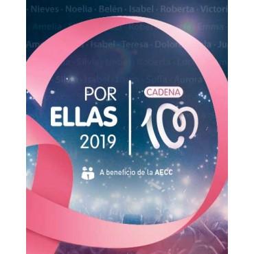 """Cadena cien """" Por ellas 2019 """" V/A"""