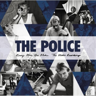 """Police """" Every move you make: The studio recordings """""""