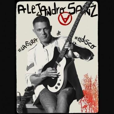 """Alejandro Sanz """" La gira de el disco """""""