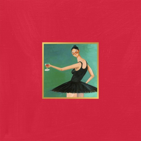 "Kanye West "" My beautiful dark twisted fantasy """