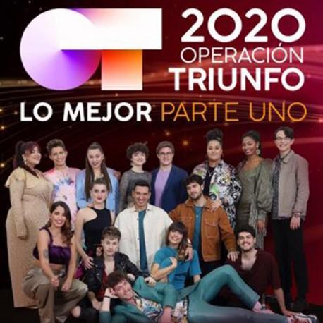 """Operación triunfo 2020 """" Lo mejor parte uno """" V/A"""