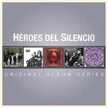 """Héroes del silencio """" Original album series """""""