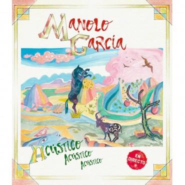 """Manolo García """" Acústico, acústico, acústico (en directo) """""""