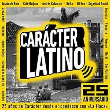 Carácter latino 25 aniversario V/A