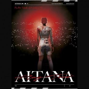 """Aitana """" Play Tour: En directo """""""