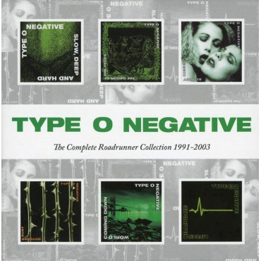 """Type O Negative """" The complete Roadrunner collection 1991-2003 """""""