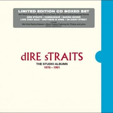 "Dire Straits "" The studio albums 1978-1991 """