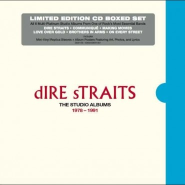 "Dire Straits "" The studio albums 1978-1991 """