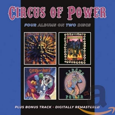 """Circus Of Power """" Circus of Power/Vices/Magic&Madness/Live at the Ritz """""""