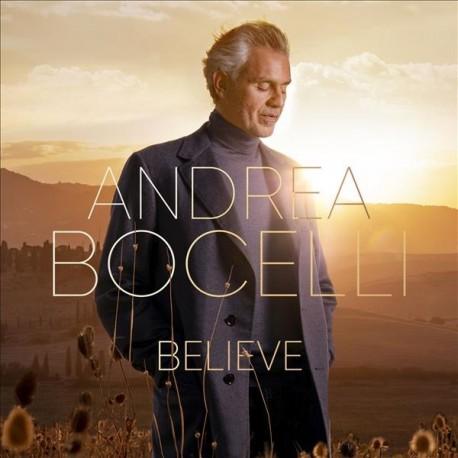 "Andrea Bocelli "" Believe """