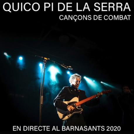 """Francesc Pi de la Serra """" Cançons de combat-En directe al Barnasants 2020 """""""