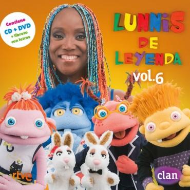 "Lunnis "" Lunnis de leyenda vol.6 """