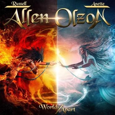 """Allen/Olson """" Worlds apart """""""