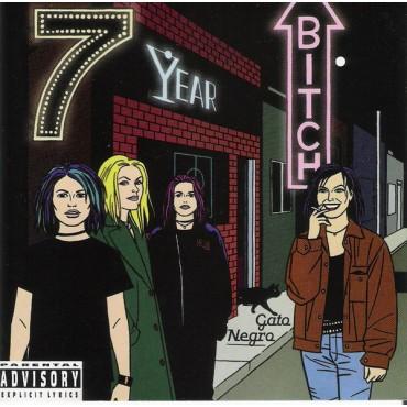 "Seven Year Bitch "" Gato negro """