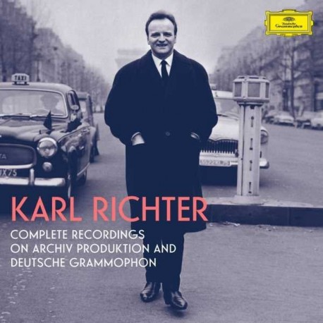 """Karl Richter """" The complete recordings on Archiv Produktion and Deutsche Grammophon """""""