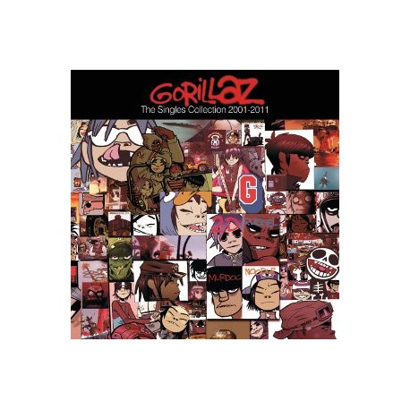 "Gorillaz "" The singles collection 2001-2011 """