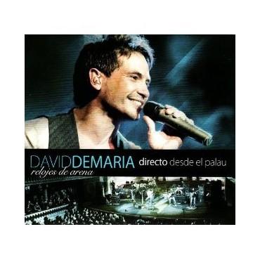 """David de María - """"Relojes de arena"""" (Live)"""