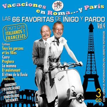 """Las 66 favoritas de Íñigo y Pardo vol.4 """" Éxitos italianos y franceses """" V/A"""