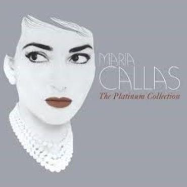 "Maria Callas "" The platinum collection """