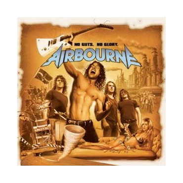 "Airbourne "" No Guts, No Glory """