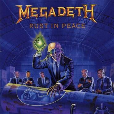 "Megadeth "" Rust in peace """