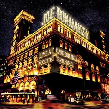 "Joe Bonamassa "" Live at Carnegie hall-An acoustic evening """